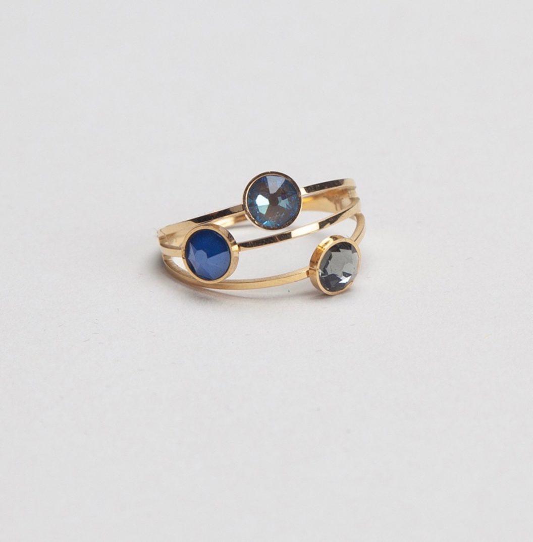 1 ELLA gold grey-blue