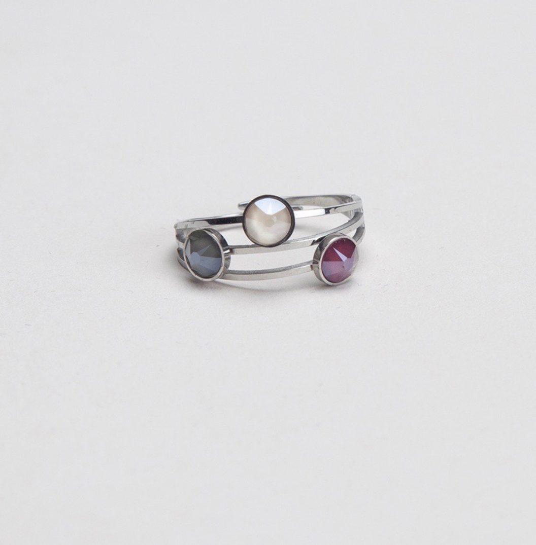 ELLA silber white-purple