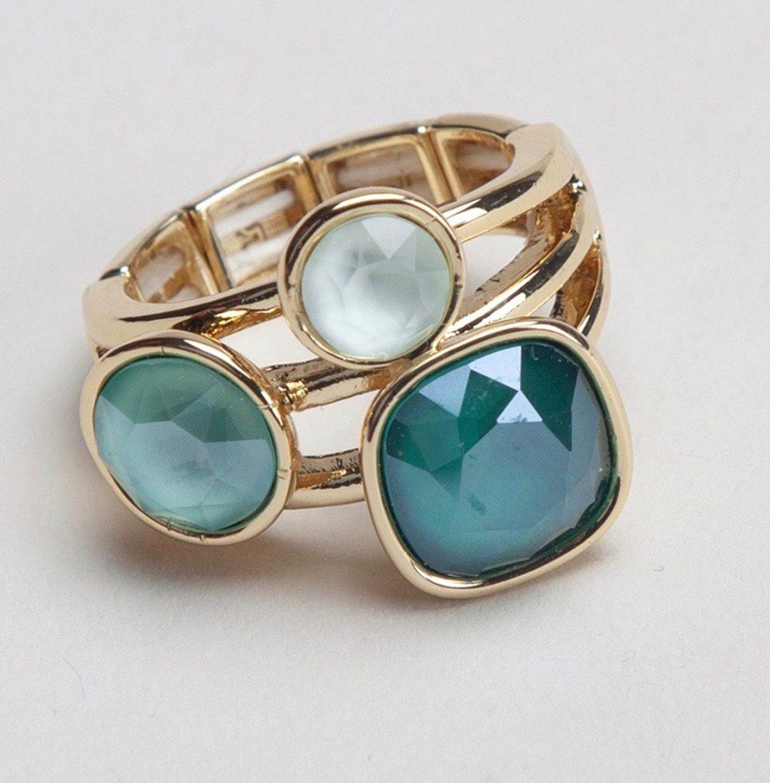 YASU gold emeralde green 1